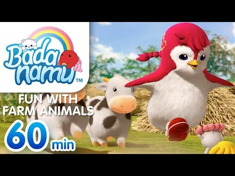 Fun with Farm Animals | Badanamu Compilation