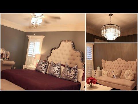 Master Bedroom Tour   #HOUSETOHOME Ep. 5