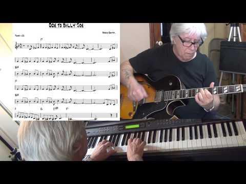 Ode To Billie Joe - Jazz funk guitar & piano cover ( Bobbie Gentry ) Yvan Jacques