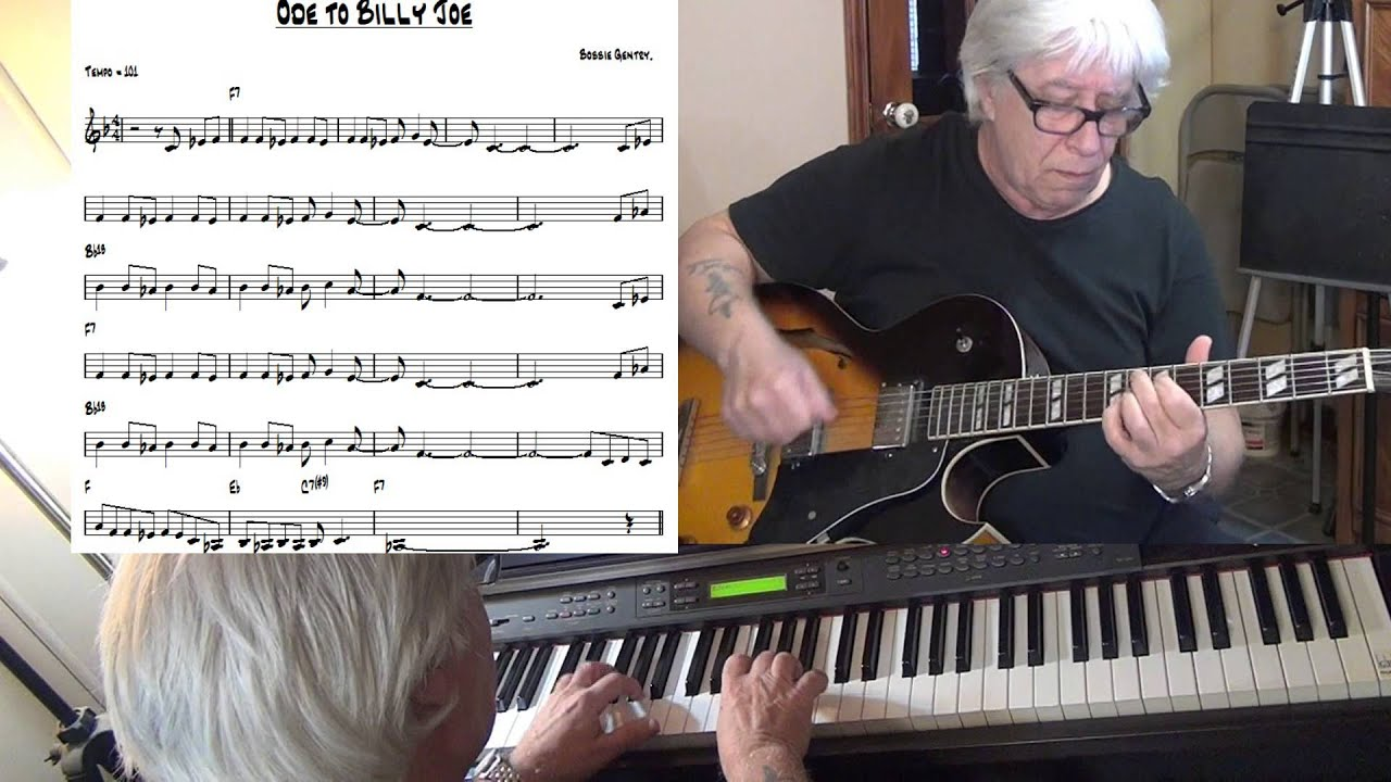 Ode To Billie Joe Jazz Funk Guitar Piano Cover Bobbie Gentry