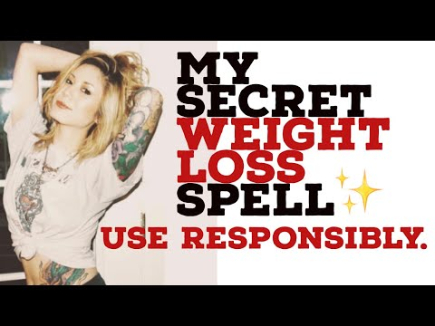 My Personal ⭐️WEIGHT LOSS SPELL🌙 (Only WATER Needed)