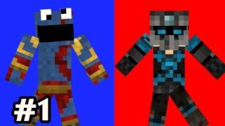 Minecraft: Red And Blue w/Nova & SSoH Ep.1 - Half Parkour Half Puzzle
