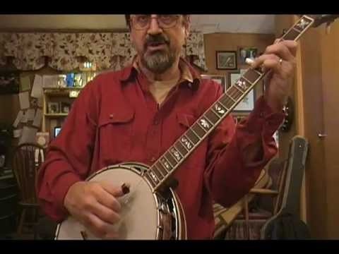 Basic Bluegrass Banjo Chords 1 - YouTube