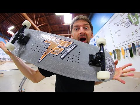 CAN WE BREAK THE CONCRETE SKATEBOARD?