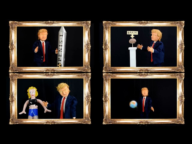 Trump the Marionette: Donald´s Daily Life Hacks, Episode 1
