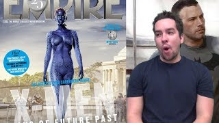 Jennifer Lawrence Blue and Naked Again! Ben Affleck Talks More Batman!
