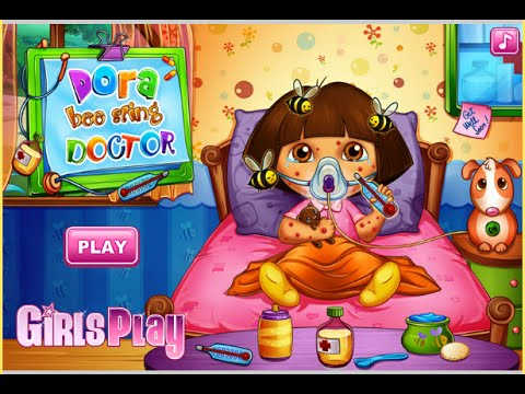 Dora The Explorer Online Games Dora Doctor Treatment Game