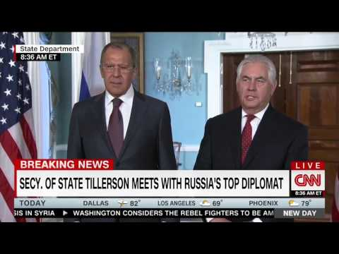 Russian Foreign Minister Mocks Media for Asking About Comey Firing