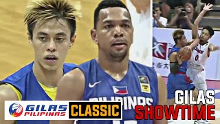 GILAS CLASSIC: Gilas Pilipinas vs Japan / TERRENCE AT TAUTUAA NAGPAKITANG GILAS KONTRA JAPAN