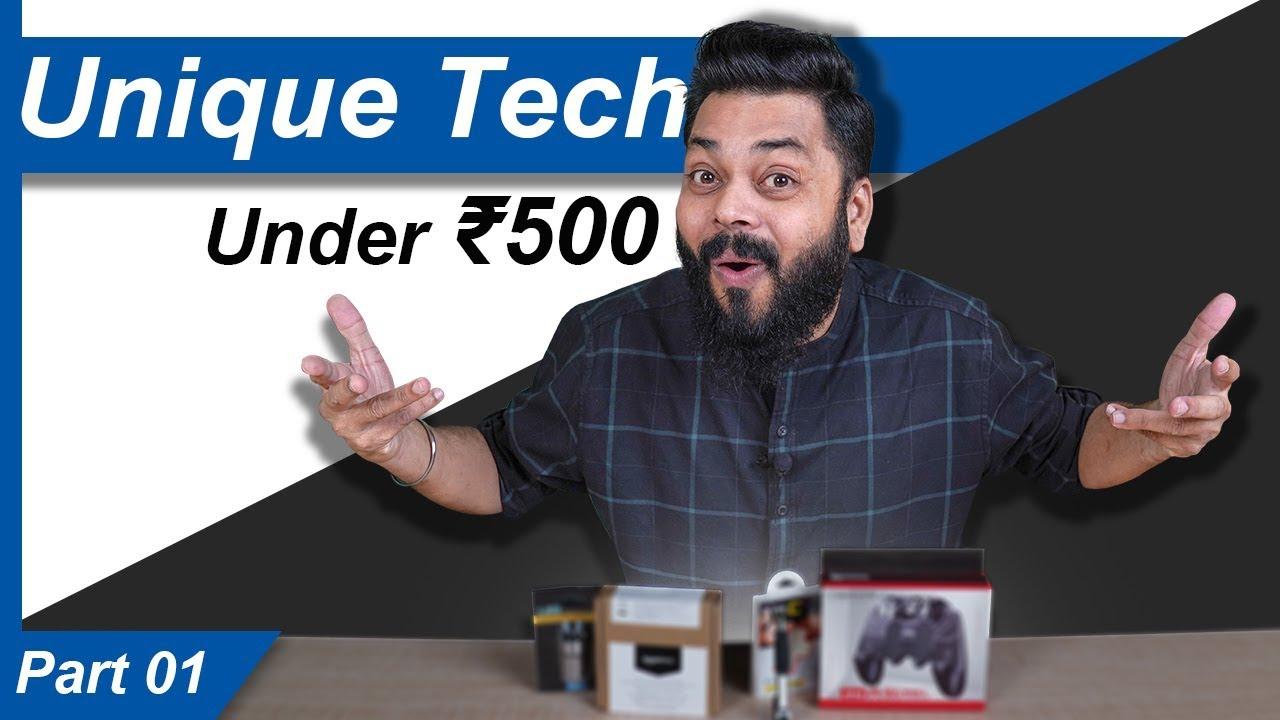 Top 5 Best Unique Tech Gadgets Under Rs.500 | Part I ⚡⚡⚡ (March 2020)