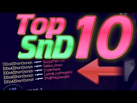 INSANE TOP 10 SnD! 1v6 Clutches, Aces, Feeds! BO3 SnD, MWR SnD!