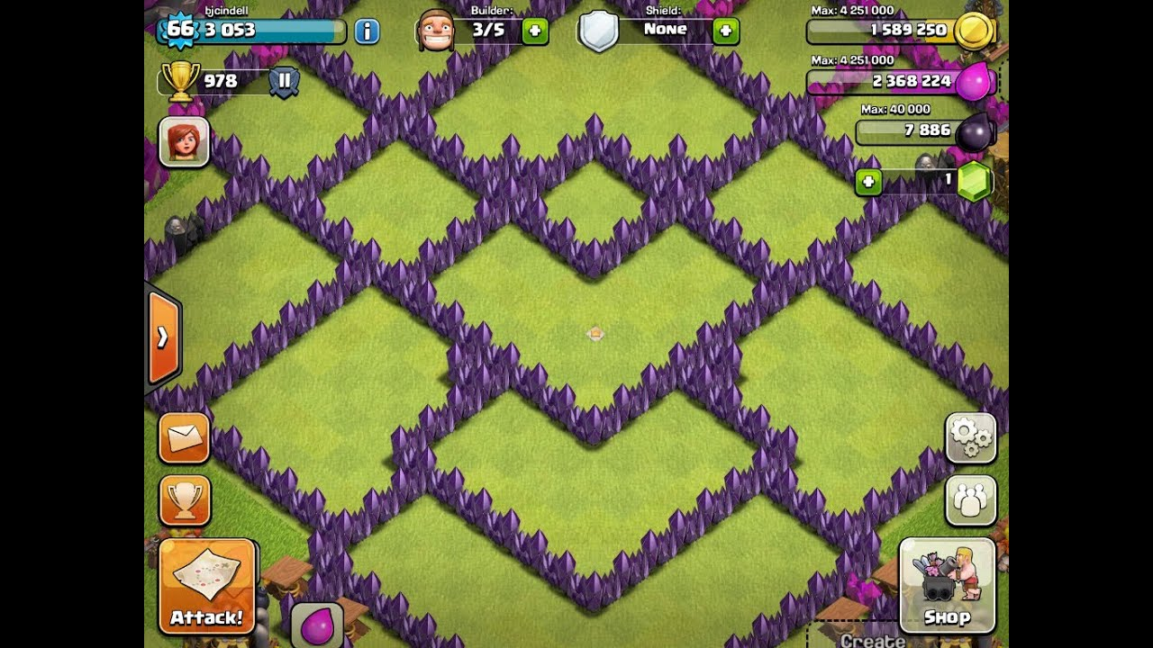 Clash of clans awesome th8 farming base contest finalists