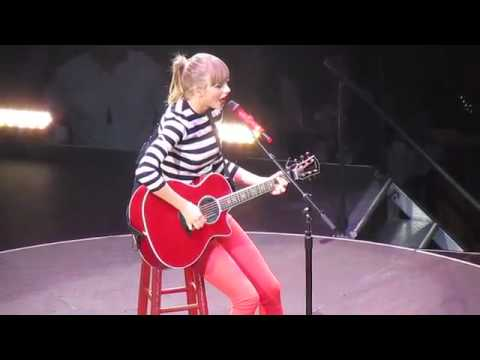 Taylor Swift Teardrops On My Guitar (HD) May 22 2013 RED Tour