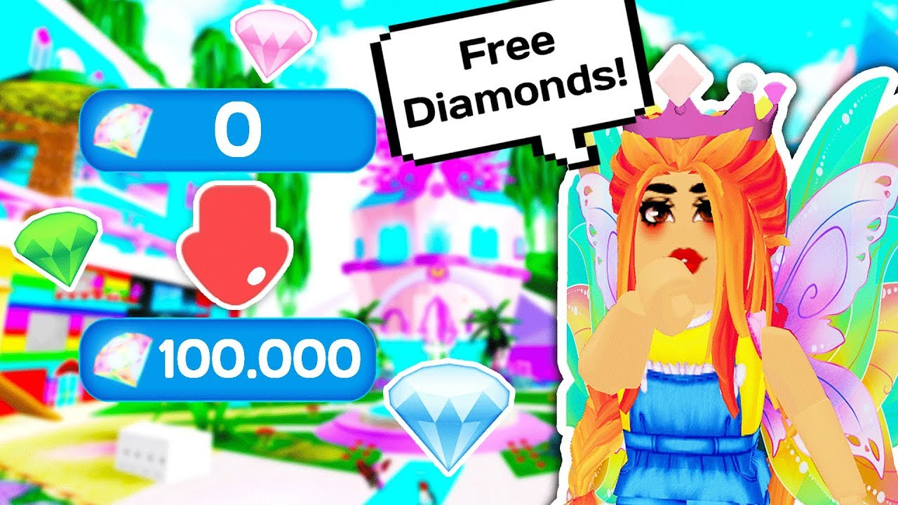 THE EASIEST WAY TO GET FREE DIAMONDS! 💎👑 // Roblox Royale High School