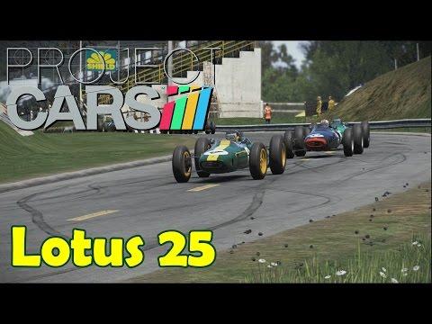 Project CARS Classic Team Lotus DLC - Lotus Type 25 @ Rouen-Les-Essarts
