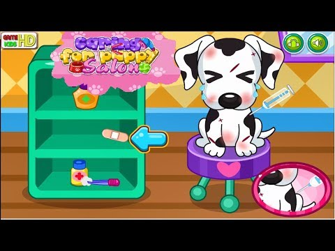 Caring For Puppy Salon Games Kids Gamekids Hd Doctor Games For