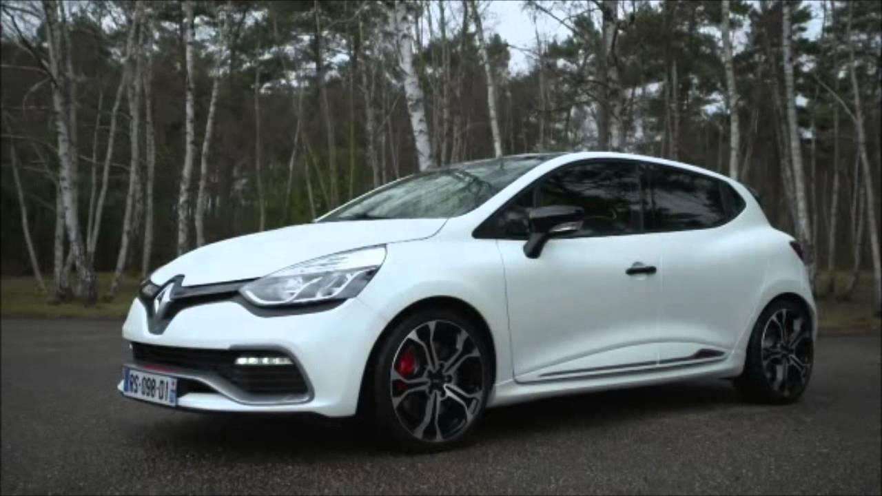renault clio 4 rs trophy 220 presentation youtube