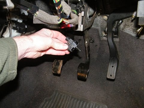 Brake Lights Stuck On Fix