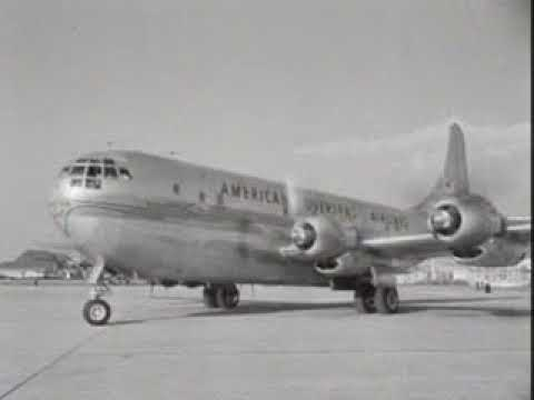 The Boeing Stratocruiser at Schiphol Airport for the first time (Week number 49-36)
