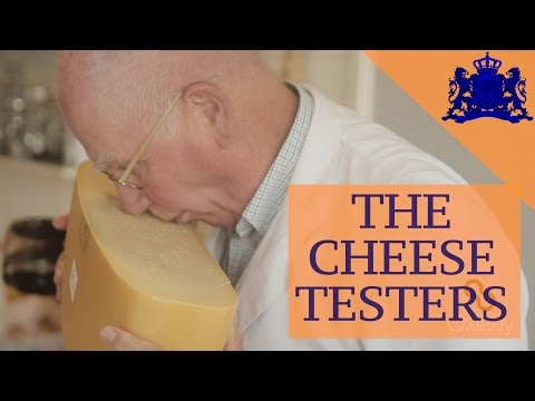 The Cheese Testers • Holland's Last Cheese Market • Woerden • The NETHERLANDS