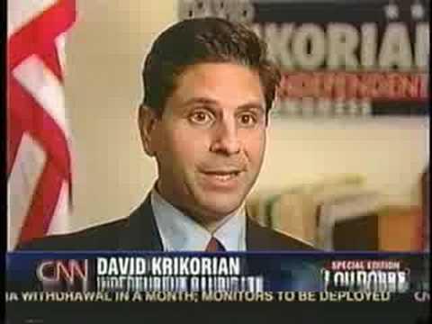 Independent Candidate David Krikorian On CNN's Lou Dobbs