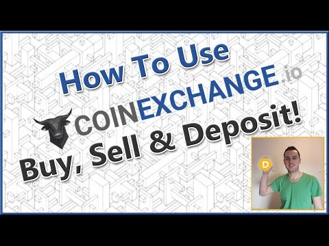 How to use Coinexchange - Coinexchnage Deposit and Trading Tutorial