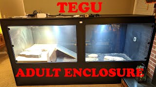 My Indoor Tegu Enclosure Animal Plastics T100 Our Reptile Forum Animal plastics cages.few questions i dont know anything about the different ap sizes. my indoor tegu enclosure animal