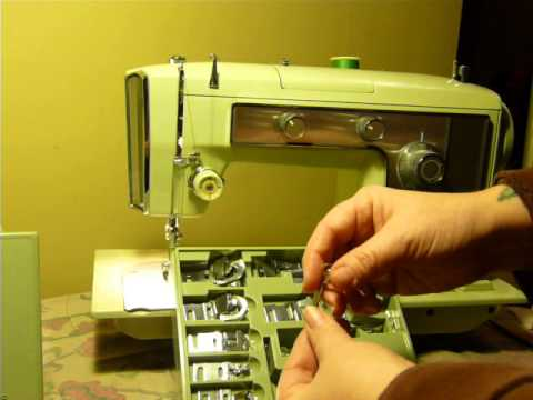 Vintage kenmore cam sewing machine