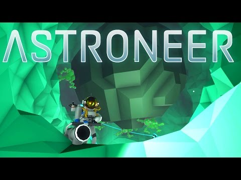 Save Astroneer - Ep. 10 - Digging to the Astronium Core! - Let's Play Astroneer Gameplay Screenshots