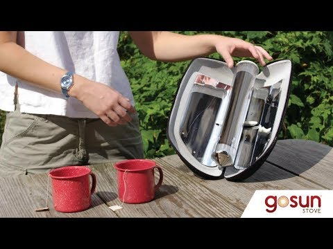 Gosun Go - Boil Water and Cook Meals with Solar Power .|. Gagdet Invention