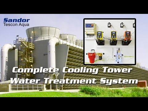 Cooling Tower Water Treatment Controller Probes Dosing Pumps