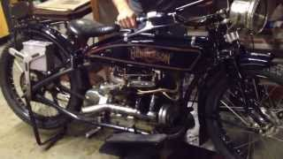 Henderson Motorcycle - What a great sound!