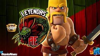 Liga OFICIAL con Leyendas AE | Clash of Clans
