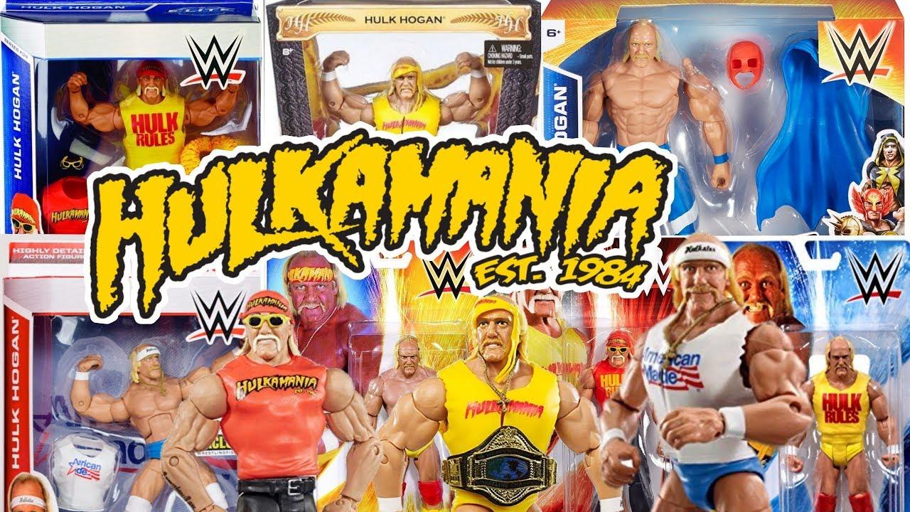 Hulk Hogan Every Wwe Mattel Action Figure Youtube