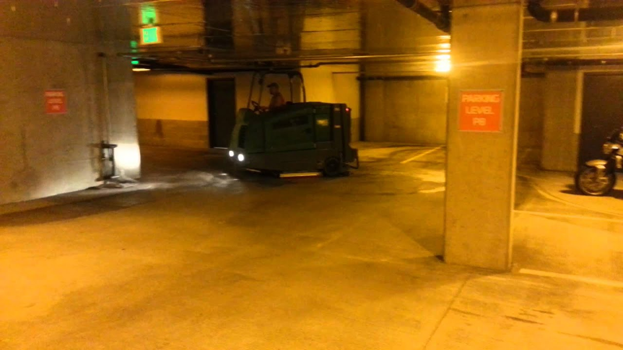 Parking Garage Floor Scrubber Dandk Organizer