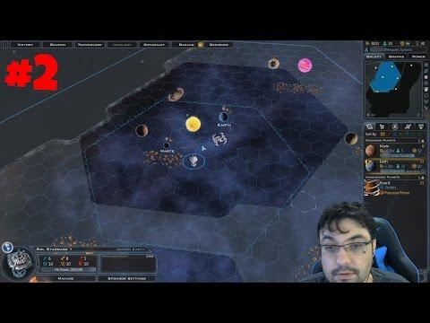 Galactic Civilization 3: Mercenaries - United Earth [2] português / vamos jogar
