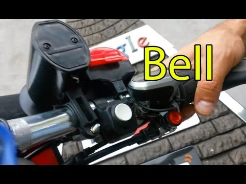campanello elettronico 6 suoni Sounds Ultra-loud Bicycle Bike Electronic Bell Horn