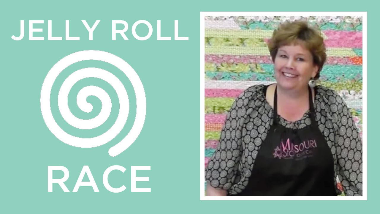 Jelly Roll Race A Quilt Top In Less Than An Hour Youtube