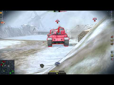 Smasher 6338DMG 7Kills | World Of Tanks Blitz | Spoony_CZ