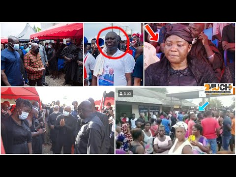 $hocked; The Wife Of Late Hon. Ekow Quansah Was Found Doing This After Husband's Dea'th.....