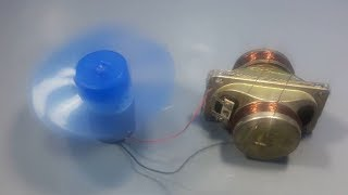 free energy generator magnet for fan with speaker magnet | science projects