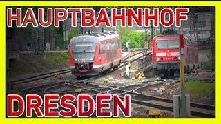 ★ STADTVERKEHR IN DRESDEN [HD1080p]