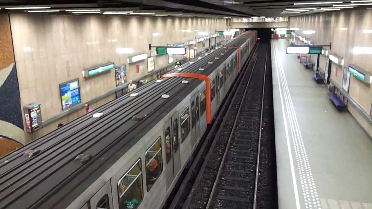 Metro Brussel Bruxelles Troon Trone Youtube