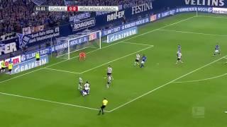 Schalke 4-0 Borussia Mönchengladbach