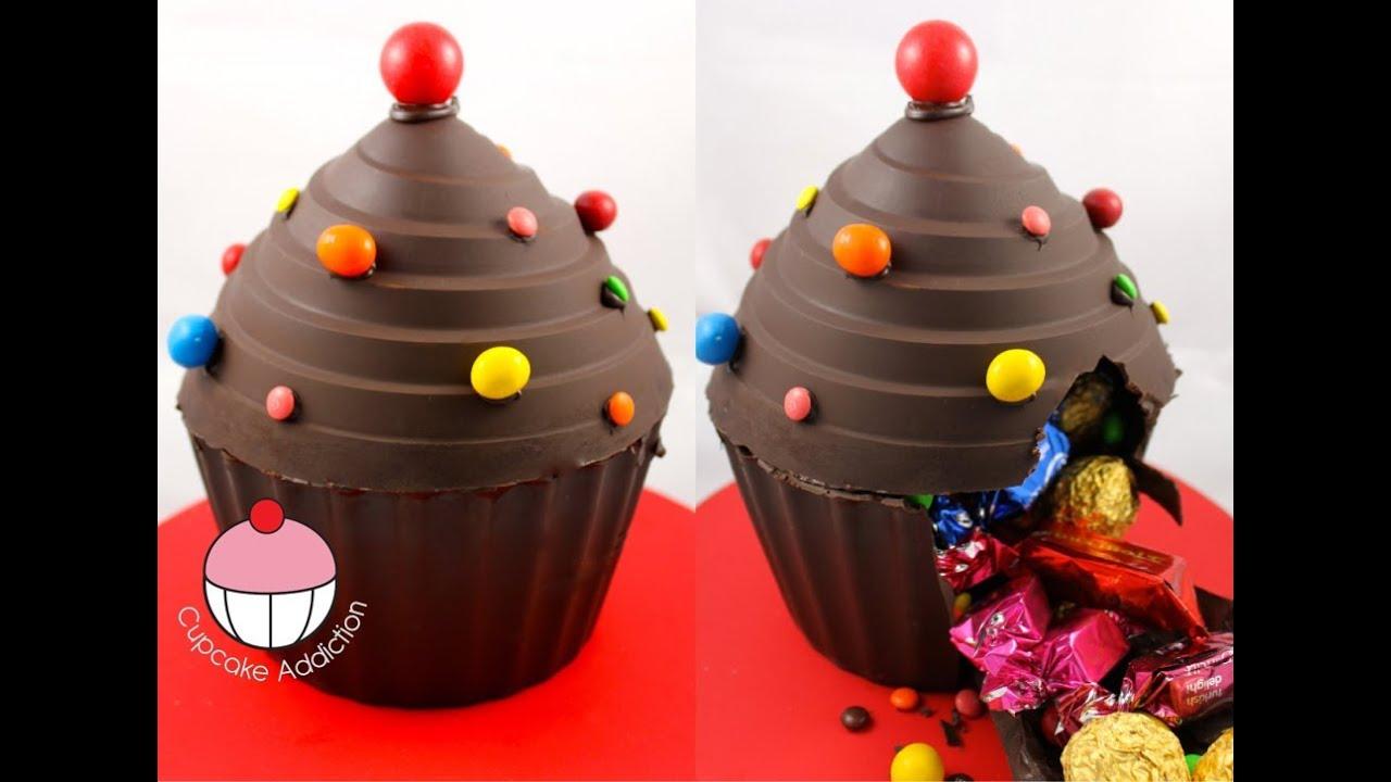 How To Make Big Cupcake Smash Cake
