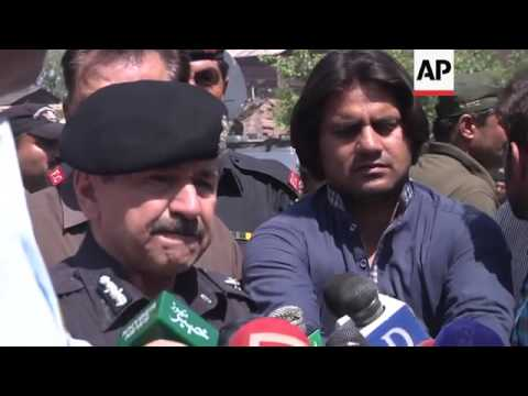 Funerals for paramilitary forces in Pakistan