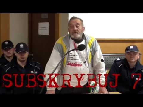 Zygmunt Miernik oskarżony o pobicie policjantów