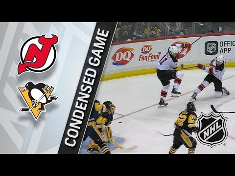New Jersey Devils vs Pittsburgh Penguins – Feb. 27, 2018 | Game Highlights | NHL 2017/18. Обзор