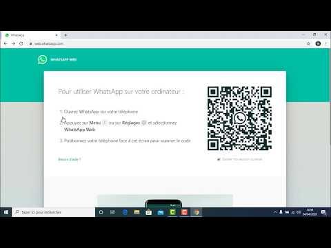 شرح استخدام واتساب ويب  WhatsApp Web