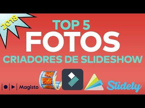 Os 5 Melhores Criadores de Slideshow de Fotos em 2018